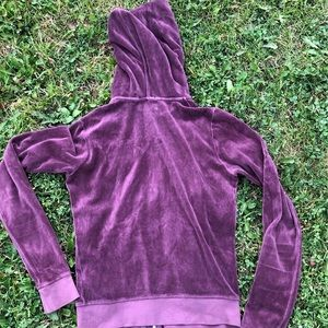 Juicy Couture Sweaters - Juicy Couture Classic Sweatshirt, Maroon